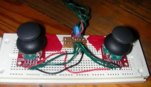 Game controller (detail)
